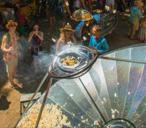 Solar Popcorn Cooker